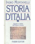 Storia d'Italia vol. III. - Apogeo e caduta dell'Impero romano