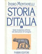Storia d'Italia vol. I. - Dalla fondazione di Roma alla distruzione di Cartagine