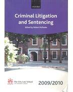 Criminal Litigation and Sentencing 2009-2010