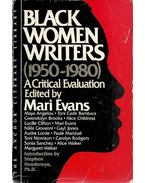 Black Women Writers (1950-1980) - A Critical Evaluation