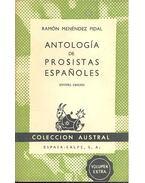 Antologia de prositas Españoles