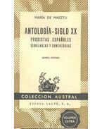 Antología - Siglo XX - Prositas Españoles