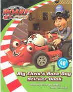 Big Chris' Race Day Sticker Book