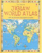The Usborne Jigsaw World Atlas