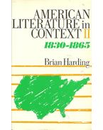 American Literature in Context - vol 2: 1830-1865