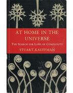 At Home in the Universe - The Search for Laws of Complexity
