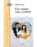 Une union sous contrat