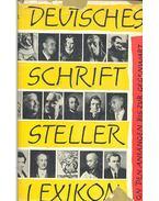 Deutsches schriftsteller lexikon