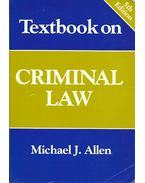 Textbook on Criminal Law - 5th edition