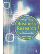 Business Research - a practical guide for undergraduate and postgraduate students