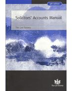Solicitors' Accounts Manual - 9th edition