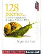 128 poemes...composés en langue francaise de Guillaume Apollinaire á 1968