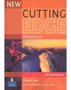 New Cutting Edge - Intermediate - Student's Book with mini dictionary
