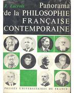 Panorama de la Philosophie Française Contemporaine