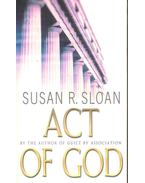 Act of God - SLOAN, SUSAN R,