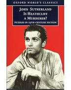 Is Heathcliff a Murderer? - Puzzles in Nineteenth-century Fiction