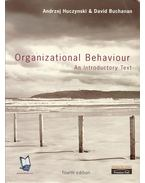 Organizational Behaviour - An Introductory Text - 4th edition