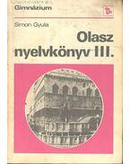 Olasz nyelvkönyv III.