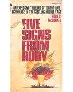 Five Signs from Ruby