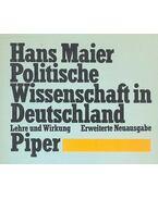 Politische Wissenschaft in Deutschland