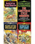The Cineverse cycle Omnibus: Slaves of the Volcano God ; Bride of the Slime Monster ; Revenge of the Fluffy Bunnies