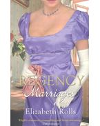 Regency Marriages