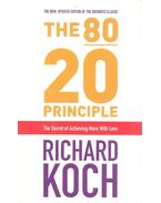 80/20 Principle, The