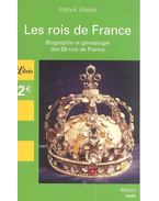 Les rois de France - WEBER, PATRICK