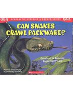 Can Snakes Crawl Backward?