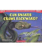 Can Snakes Crawl Backward?