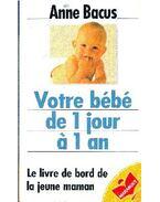 Votre bébé de 1 jour á 1 an