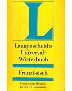 Langenscheidts Universal-Wörterbuch - Französich