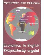 Economics in Engish - Közgazdaság angolul