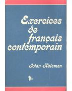 Exercices de francais contemporain