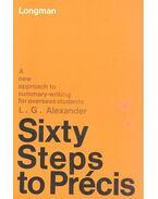 Sixty Steps to Précis