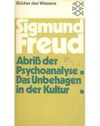 Abris der Psychoanalyse Das Unbehagen in der Kultur