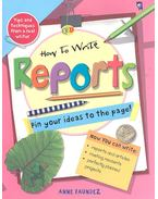 How to Write Reports - Pin your ideas to the pages!