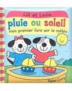 Lili et Louise pluie ou soleil - mon premier livre sur la météo
