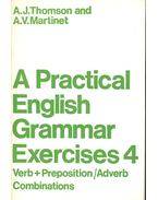 A Practical English Grammar Exercises 4 - Verb + Preposition/Adverb Combinations