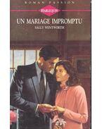 Un mariage impromptu