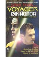 Star Trek Voyager - Day of Honor - Friedman, Michael Jan
