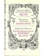 René - Adolphe - La Confession d'un Enfant du siècle