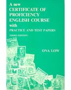 A New Certificate of Proficiency English Course with Practice and Test Papers