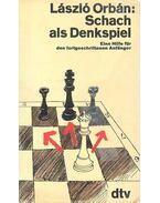 Schach als Denkspiel