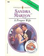 A Proper Wife