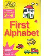 First Alphabet Age 3-4