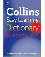 Collins Easy Learning Dictionary and Thesaurus