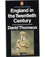 England in the Twentieth Century