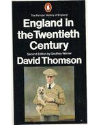 England in the Twentieth Century