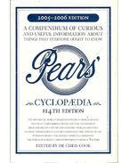Pears Cyclopedia 2005-2006
